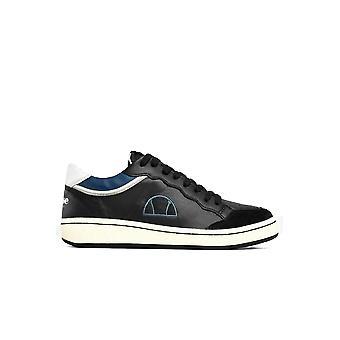 Lederen sneakers geborduurd logo - Ellesse