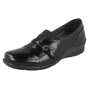 Ladies Padders Dual Fit System Comfort Flats Shelley