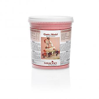 Saracino modellering pasta-Rose Pink 1kg-BULK Pack 6