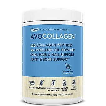 Rsp keto collagen powder, healthy hair, skin, nails, bones & joints, avocado oil (vanilla, avocollagen)