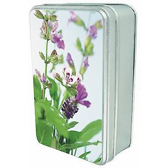 Tin Box of 20 Gift Cards and Envelopes  Simply Herbs by Anness