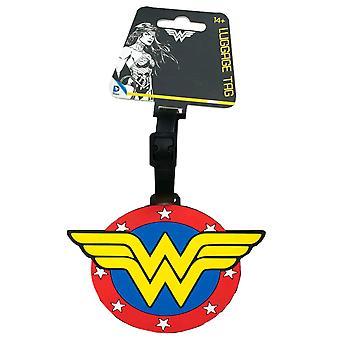 Wonder Woman Logo Luggage Tag
