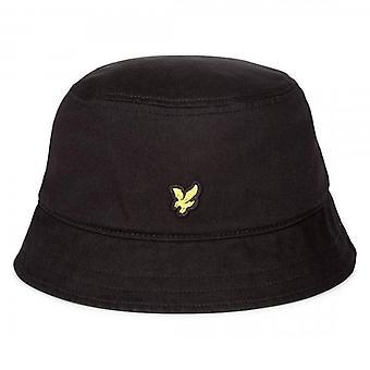 Lyle & Scott Logo Black Bucket Hat HE800A