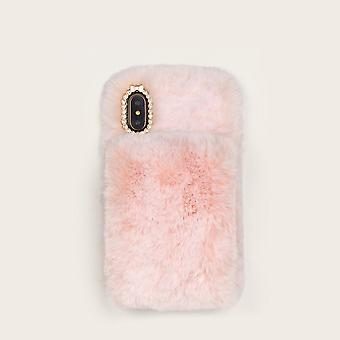 Fluffy design iphone case
