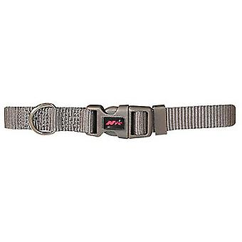 Nayeco Basic Dog Collar Gray Size S (Dogs , Collars, Leads and Harnesses , Collars)