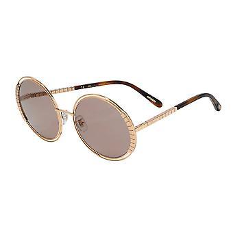 Chopard SCHC79 08FC Shiny Copper Gold/Violet Sunglasses