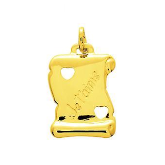 Pendentif  Or 375/1000 jaune  (9K)