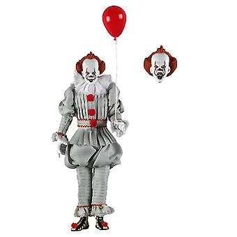 Pennywise Clothed Edition Poseable Figure from It (2017)