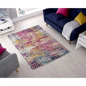 Urban Urban Abstract Rosa Multi Rettangolo Rugs Modern Rugs