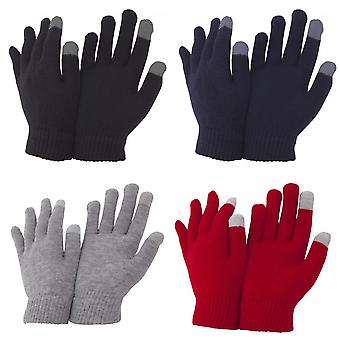 FLOSO Unisex Mens/Womens IPhone/iPad Mobile Touch Screen Winter Magic Gloves