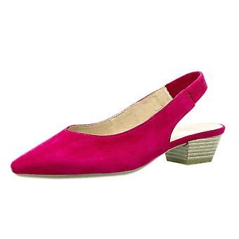 غابور هيثكليف أنيقة وأشار إلى تو Sling مرة أخرى أحذية في جلد الغزال الوردي