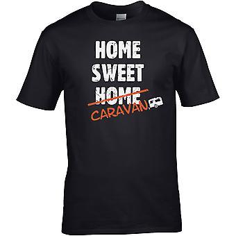 Home Sweet Caravan - - DTG gedruckt T-Shirt