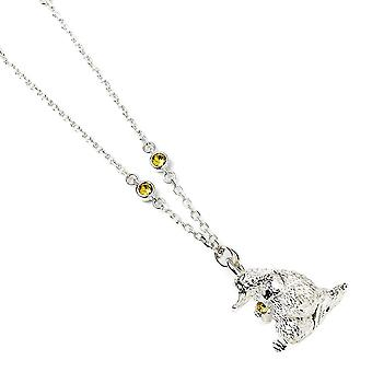 Fantastic Beasts Sterling Silver Niffler Necklace with Crystals