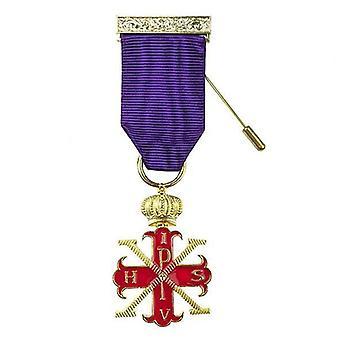 Røde kors af konstantin suveræne bryst juvel