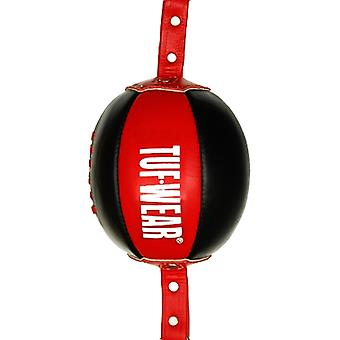 Tuf Wear Leather Reaction Ball Black / Red