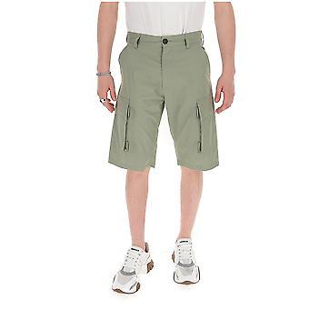 Stella Mccartney 599125son029613 Men's Green Cotton Shorts