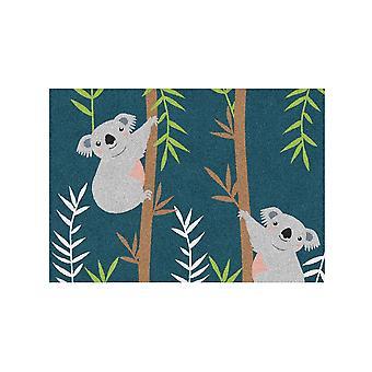 Kids Rug - Koala - Washable - 65 x 85 cm