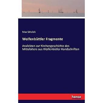 Wolfenbttler جزء Analekten زور Kirchengeschichte des Mittelalters aus Wolfenbtler Handschriften بواسطة Sdralek & Max