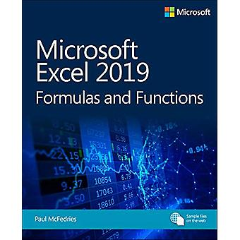 Microsoft Excel 2019 Formulas and Functions by Paul McFedries - 97815