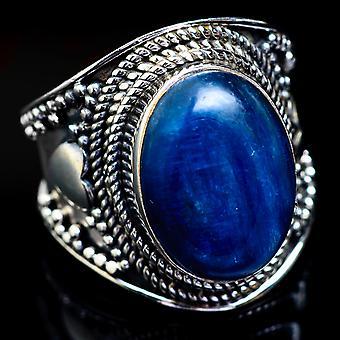 Kyanite Ring Size 6.75 (925 Sterling Silver)  - Handmade Boho Vintage Jewelry RING4586