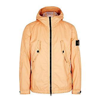 Stone Island | 41123 Membrana 3l Tc Lightweight Hood Jacket - Salmon Peach