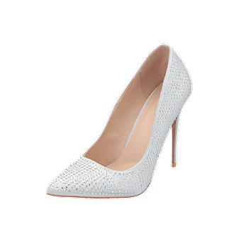 TD by True Decadence FW4608 Women's Pumps Silver High Heels Stilettos