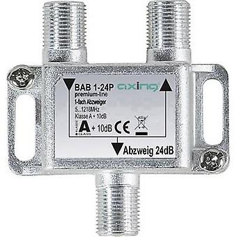 Axing BAB 1-24P Cable TV splitter 1-way 5 - 1218 MHz