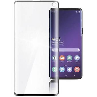 Hama 186246 Glass screen protector Compatible with (mobile phone): Samsung Galaxy S10 1 pc(s)