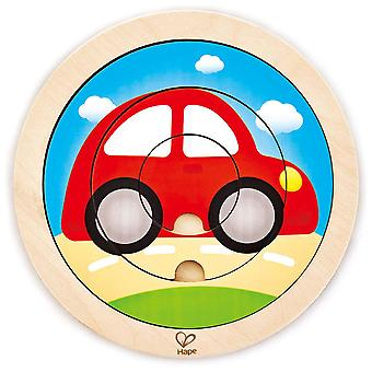 Hape Puzzle de Transport Spinning