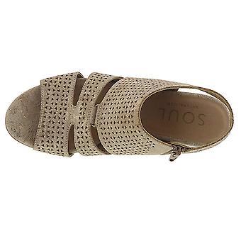 SOUL Naturalizer Womens Dez Open Toe Casual Slide Sandals