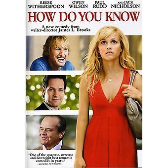 Comment importer des USA vous connaissez [DVD]