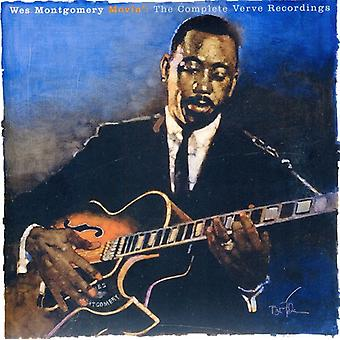 Wes Montgomery - Movin': Complete Verve Recordings [CD] USA import