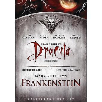 Dracula/Frankenstein [DVD] USA import