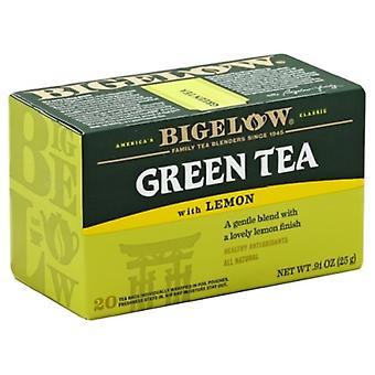 ביגלו תה ירוק עם לימון