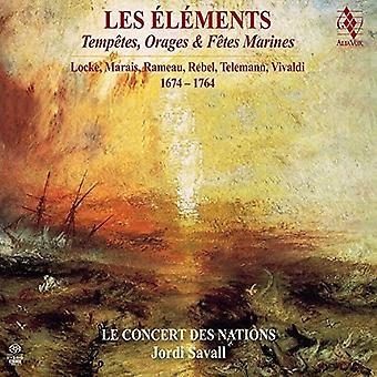 Rebel, J. / Le Concert Des Nations / Savall, Jordi - Les element - Tempetes Orages & Fetes Marines [SACD] USA import