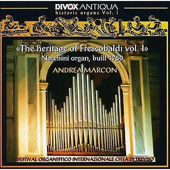 Rossi/Salvatore/Storace/Strozzi/Pasquini - The Heritage of Frescobaldi: Nacchini Organ, Built 1750 [CD] USA import