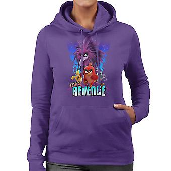 Angry Birds Zeta Revenge Women's Hooded Sweatshirt