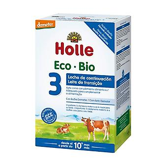 Infant Milk Continuation 3 Organic Cow 600 g of powder