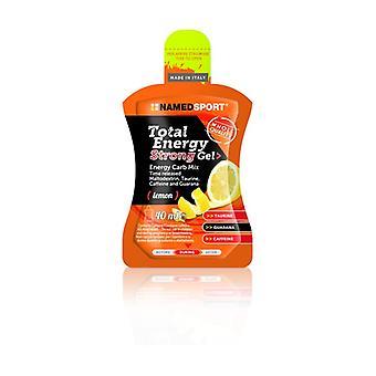 Total energy strong gel 40 ml of gel (Lemon)