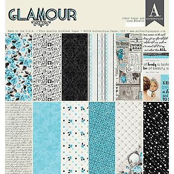 Authentique Glamour 12x12 pulgadas De papel Pad