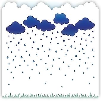 Plantilla LDRS Creative Rainy Day 6x6 pulgadas