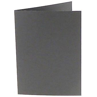 Papicolor dunkelgrau A6 Doppelkarten