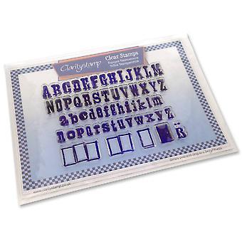 Claritystamp Wordpress -kirjaimet Tyhjennä postimerkit &; Naamio
