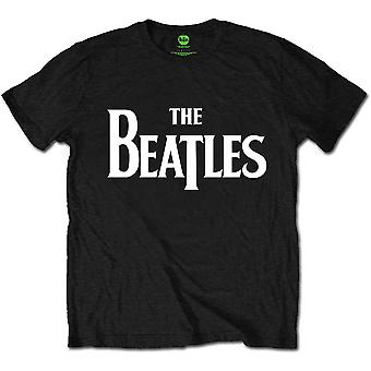 The Beatles Drop T Black Officiel Tee T-Shirt Mens Unisex
