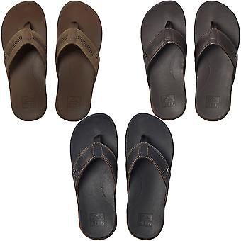 Reef Mens Cushion Lux Slip On Summer Beach Holiday Pool Flip Flops Sandals