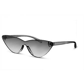 النظارات الشمسية المرأة فراشة كامل حافة رمادي