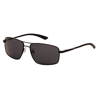 Slnečné okuliare Pánske Čierne so sivým objektívom (7110P)