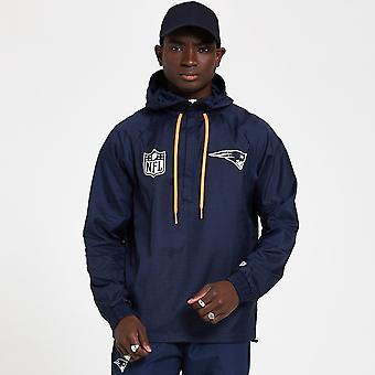 New Era Nfl New England Patriots Blue Windbreaker Jacket