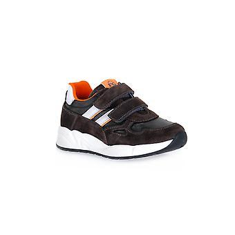 Zwarte tuinen suède grijs 2222 sneakers mode