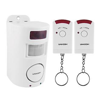 Uni-Com Remote Control PIR Sensor Alarm 65487